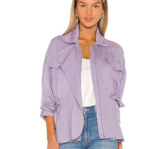 Lovers + Friends PATTY Lightweight Jacket in Lilac